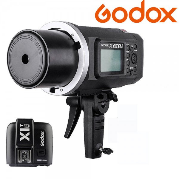 Godox AD600BM Witstro Manual All-In-One Outdoor Flash X1T-N Fro Nikon Combo Set