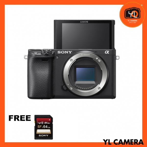 Sony a6400 (Black) [Free Sony 64GB SD Card]