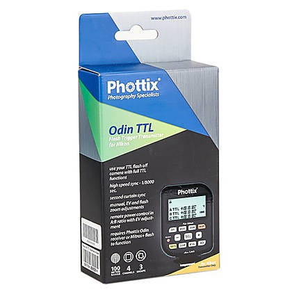 Phottix Odin TTL Flash Trigger Transmitter for Nikon