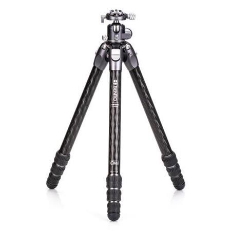Benro TTOR34CGX35 Tortoise Columnless Carbon Fiber Three Series 4-Leg Section Tripod with GX35 Ballhead