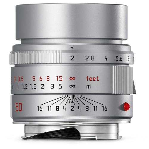 Leica 50mm F2 APO-Summicron-M ASPH - Silver (11142)