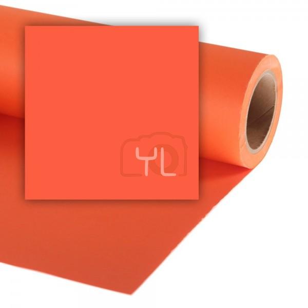 Colorama Paper Background 2.72 x 11m Mandarin