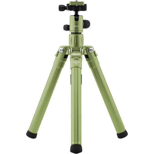 (SPECIAL DEAL) Mefoto RoadTrip Air Travel Tripod (Green) RTAIRGRN
