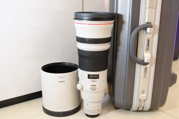 [USED-PUDU] CANON 500MM F4 L IS II EF USM LENS 95%LIKE NEW CONDITION SN:0530000065