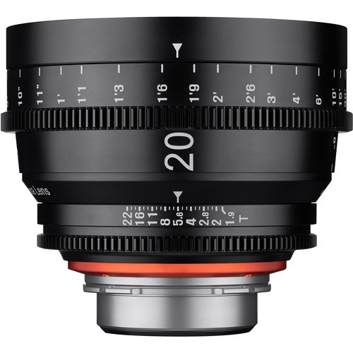 Samyang Xeen 20mm T1.9 Lens for MFT Mount