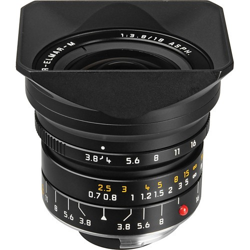 Leica 18mm F3.8 Super-Elmar-M ASPH. - Black (11649)