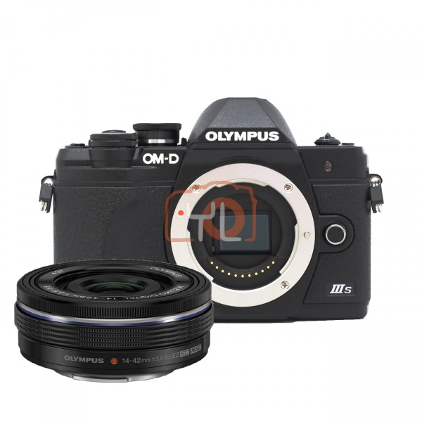 Olympus E-M10 Mark III-S (Kits) + M.Zuiko Digital ED 14-42mm f/3.5-5.6 EZ (Black)