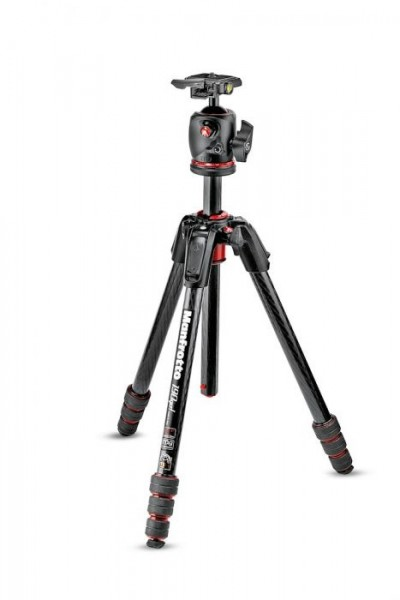 Manfrotto MK190GOC4-BHX 190go! Carbon Fiber M-Series Tripod with MHXPRO-BHQ2 XPRO Ball Head RC2 Kit
