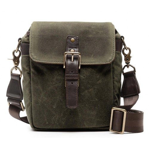 ONA Bond Street Waxed Canvas Camera Bag (Olive)