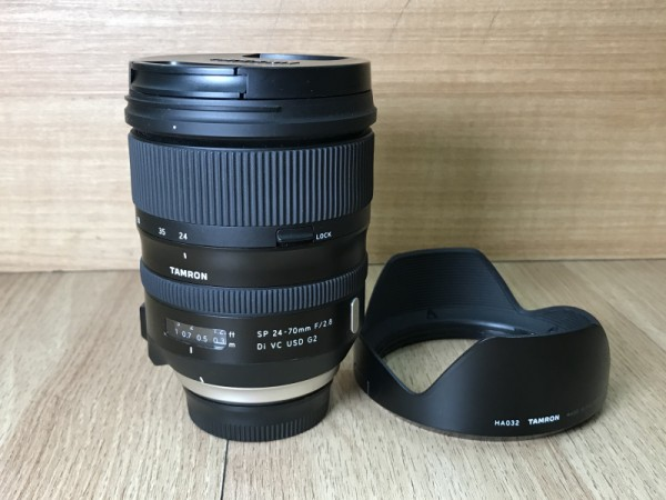 [USED @ YL LOW YAT]-Tamron SP 24-70mm F2.8 Di VC USD G2 Lens For Nikon,90% Condition Like New,S/N:011228