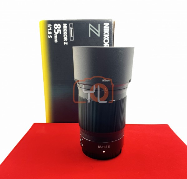 [USED-PJ33] Nikon Z 85mm F1.8 S, 99% Like New Condition (S/N:20011289)
