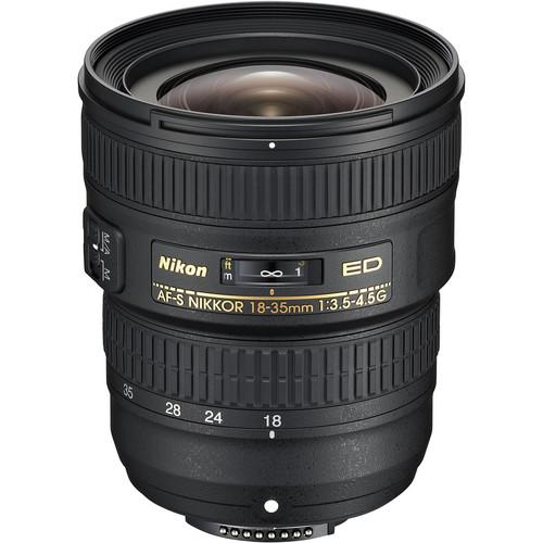 Nikon 18-35mm F3.5-4.5G AF-S