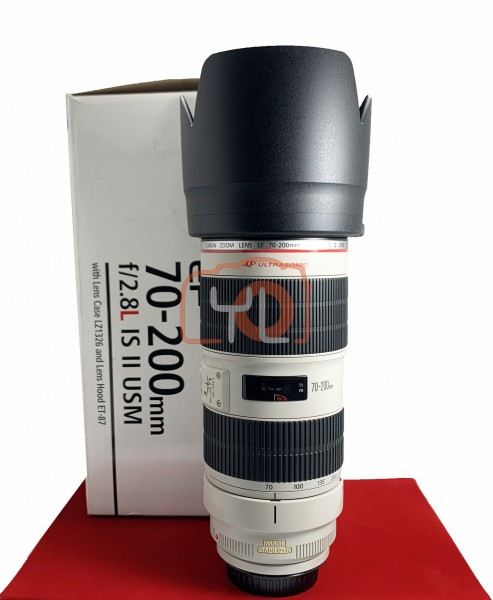 USED-PJ33] Canon 70-200mm F2.8 L IS II USM EF, 95% Like New Condition (S/N:4420004235)