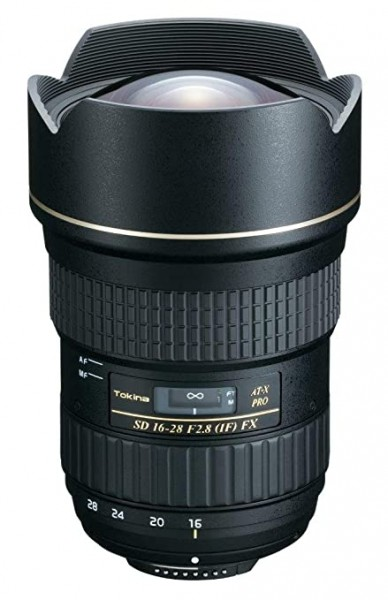 Tokina 16-28mm AT-X F/2.8 Pro FX Lens for Nikon Digital SLR Cameras