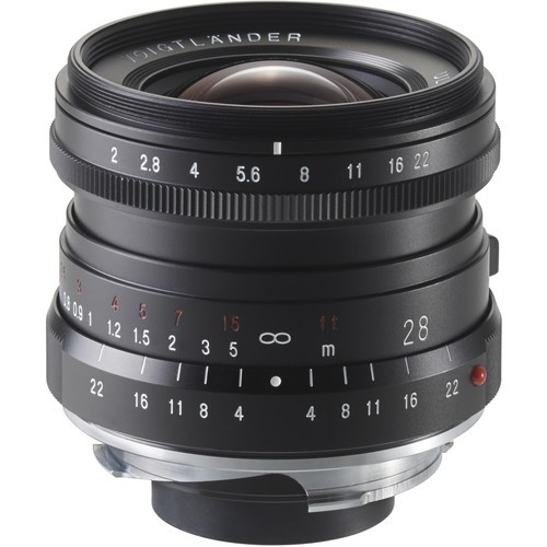 Voigtlander 28mm F2.0 Ultron Lens (For Leica M-Mount)
