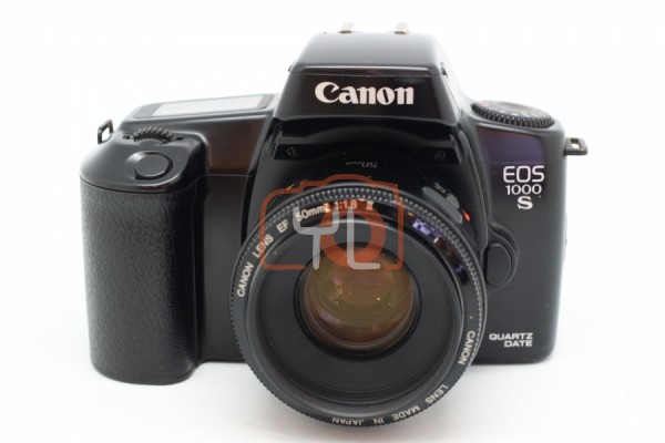[USED-PUDU] Canon EOS 1000 S Film Camera + Canon EF 50mm F1.8 II Lens 90%LIKE NEW CONDITION SN:6305086