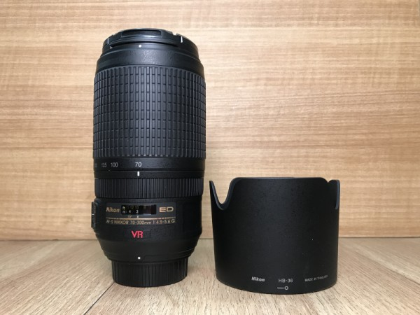 [USED @ YL LOW YAT]-Nikon AF-S 70-300mm F4.5-5.6 G ED VR Lens,95% Condition Like New,S/N:3059344