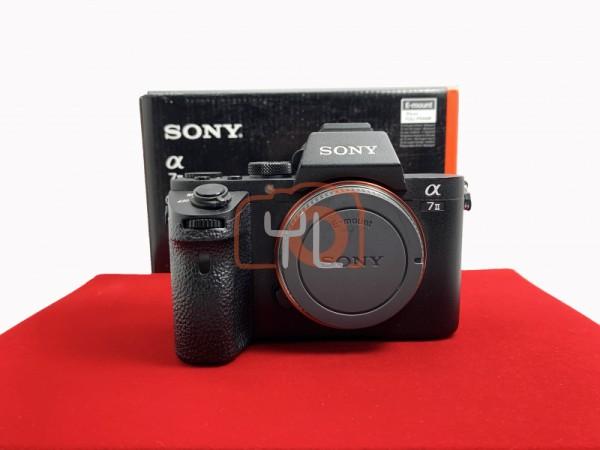 [USED-PJ33] Sony A7 Mark II Body (SC:29K), 85% Like New Condition (S/N:4503261)