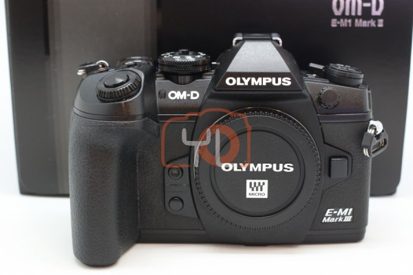 [USED-PUDU] Olympus OM-D E-M1 Mark III 95%LIKE NEW CONDITION SN:BJDA14246