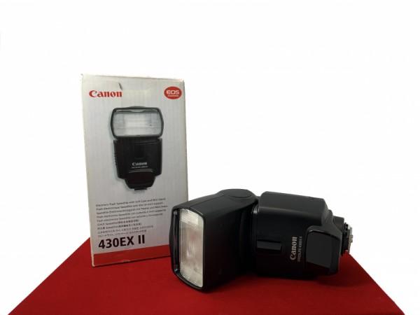 [USED-PJ33] Canon 430EX II Speedlite, 90% Like New Condition (S/N:580962)