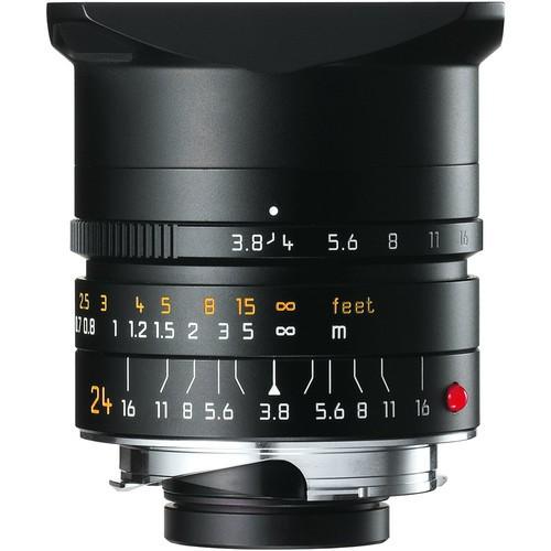 Leica 24mm F3.8 Elmar-M ASPH. - Black (11648)