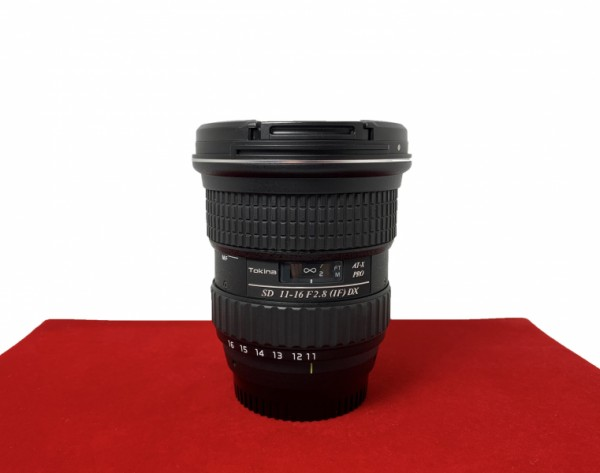 [USED-PJ33]  Tokina 11-16MM F2.8 DX AT-PRO (Nikon), 95% Like New Condition (S/N:82H3684)