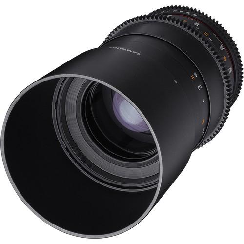 Samyang 100mm T3.1 VDSLRII Cine Lens for Nikon F Mount
