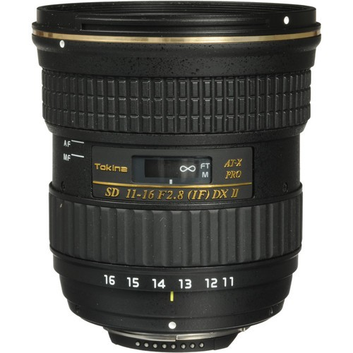 Tokina 11-16mm F2.8 AT-X PRO DX-II Lens for Nikon F