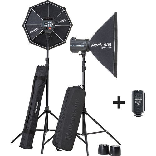 (SPECIAL DEAL) Elinchrom BRX 500/500 Softbox To Go Kit