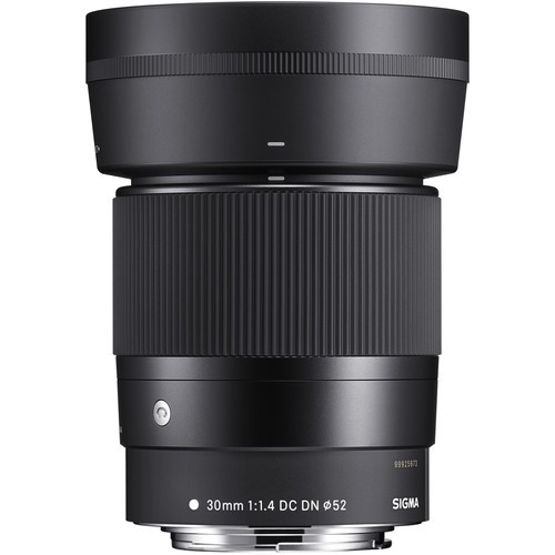 Sigma 30mm F1.4 DC DN Contemporary Lens (Canon EF-M)