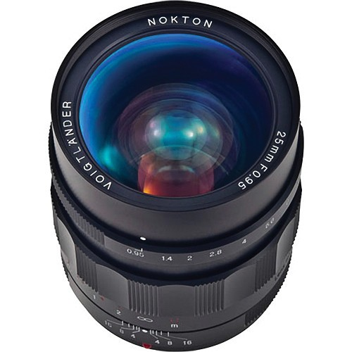 Voigtlander Nokton 25mm f/0.95 Lens for Micro Four Thirds