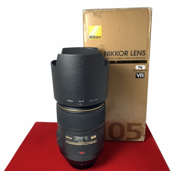 [USED-PJ33] Nikon 105MM F2.8 Micro VR AFS, 95% Like New Condition (S/N:2181986)