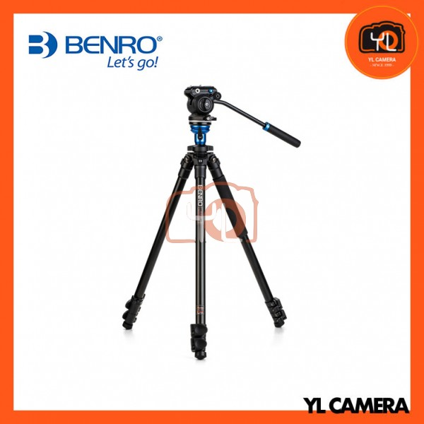 Benro A1573FS2PRO Video Tripod with S2Pro Video Head