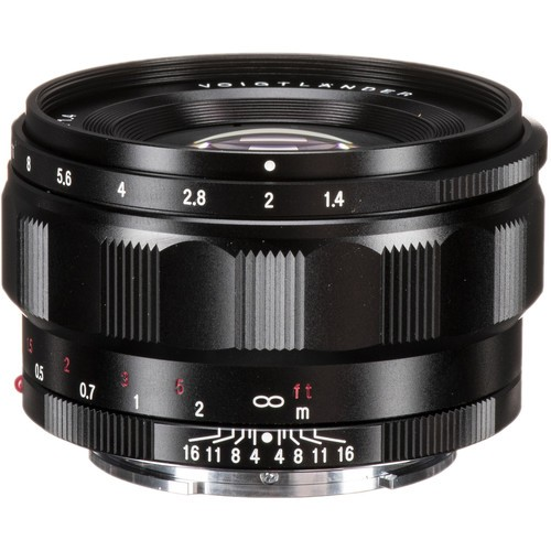 Voigtlander Nokton Classic 35mm F1.4 Lens for Sony E