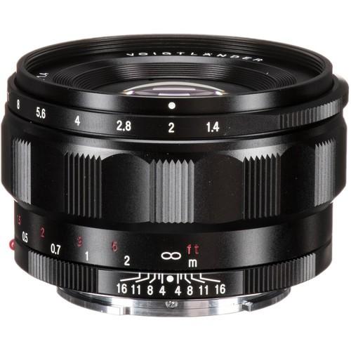Voigtlander Nokton Classic 35mm F1.4 Lens for Sony E