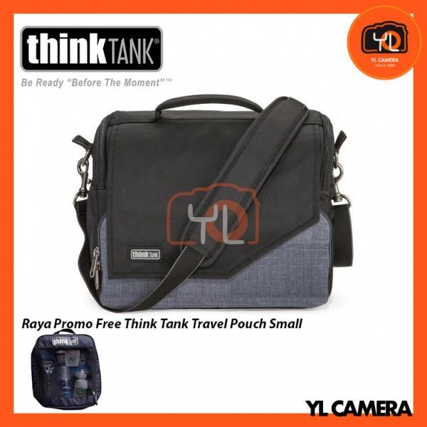 Think Tank Photo Mirrorless Mover 30i Camera Bag (Black/Heathered Grey) Free Think Tank Photo Travel Pouch - Small
