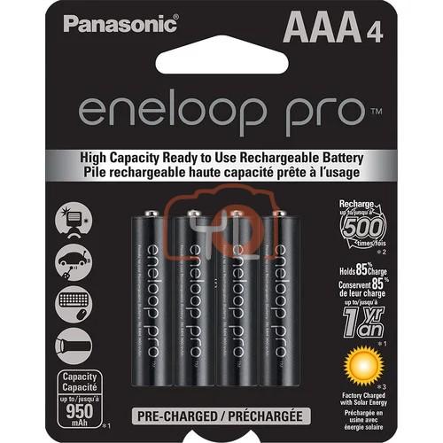 Panasonic Eneloop PRO AAA Rechargeable Batteries (950mAh, Pack of 4)