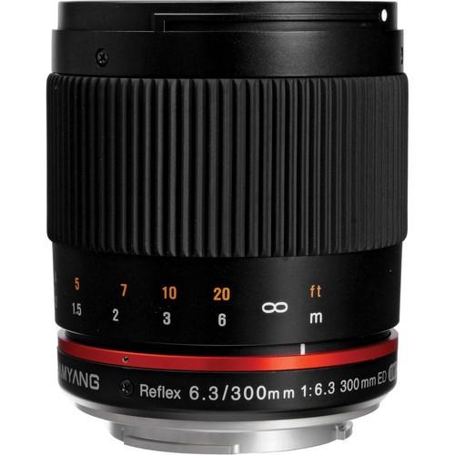 Samyang 300mm F6.3 ED UMC CS Lens for Sony E Mount (Black)