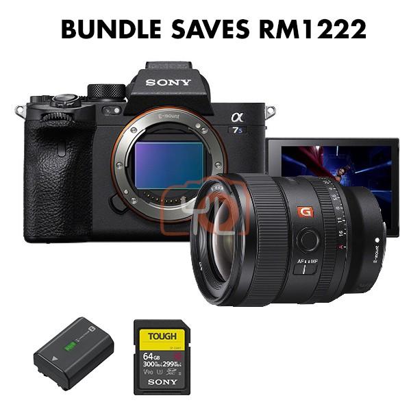 Sony a7S Mark 3 + FE 24mm F1.4 GM (Free NP-FZ100 + Tough 64GB SD Card)