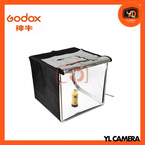 Godox LST60 Portable Photo Studio Box - Triple LED Light Source Photography Shooting Tents 60x60x60cm
