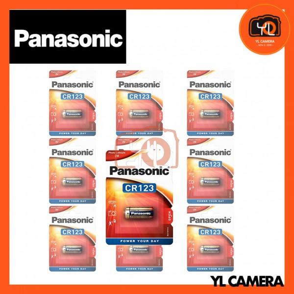 Panasonic CR123A Battery 10 Pack
