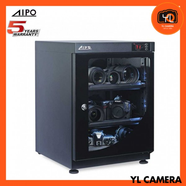 AIPO Digital Series AP-68EX Dry Cabinet (68L) (New with LED Light!)