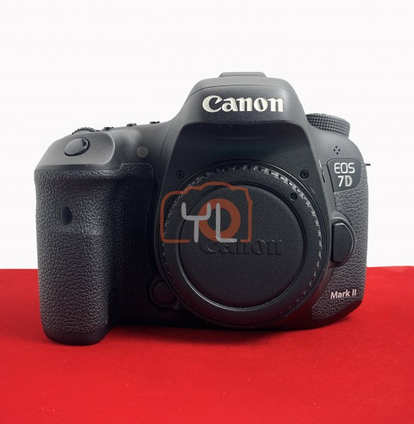 [USED-PJ33] Canon Eos 7D Mark II Body (SC:45K) , 90% Like New Condition (S/N:41021000951)