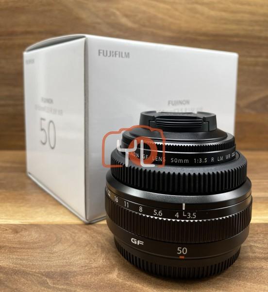 [USED @ YL LOW YAT]-FUJIFILM GF 50mm F3.5 R LM WR Lens,98% Condition Like New,S/N:97A01719
