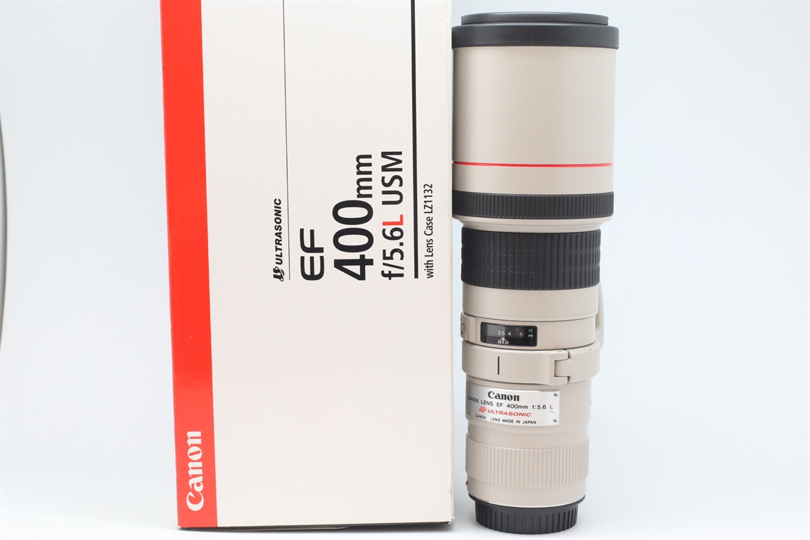 [USED-PUDU] CANON 400MM F5.6 L EF USM LENS 95%LIKE NEW CONDITION  SN:140368
