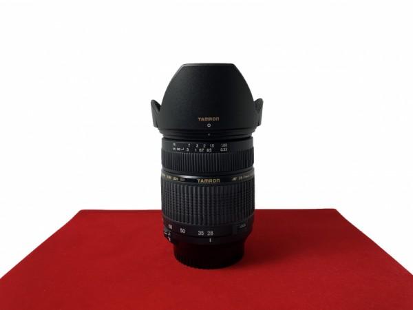[USED-PJ33] Tamron 28-75MM F2.8 XR DI SP Macro (Nikon), 90% Like New Condition (S/N:016497)