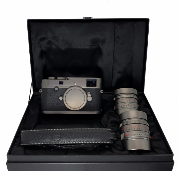 [USED-PJ33]  Leica M-P (TYP 240) Titan Set (163 / 333) (Worldwide Limited 333 units), 90% Like New Condition (S/N:5154263)