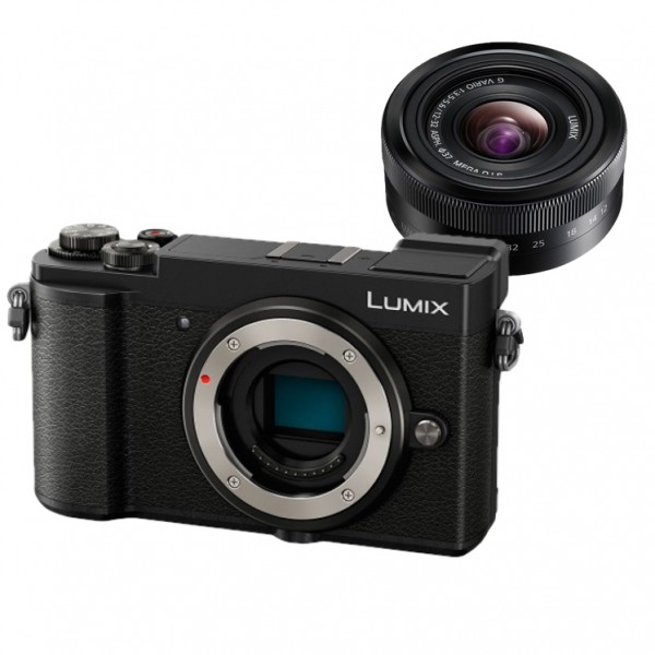 Panasonic Lumix DC-GX9 W12-32mm (Black) (FREE Extra Battery Redeem Online)