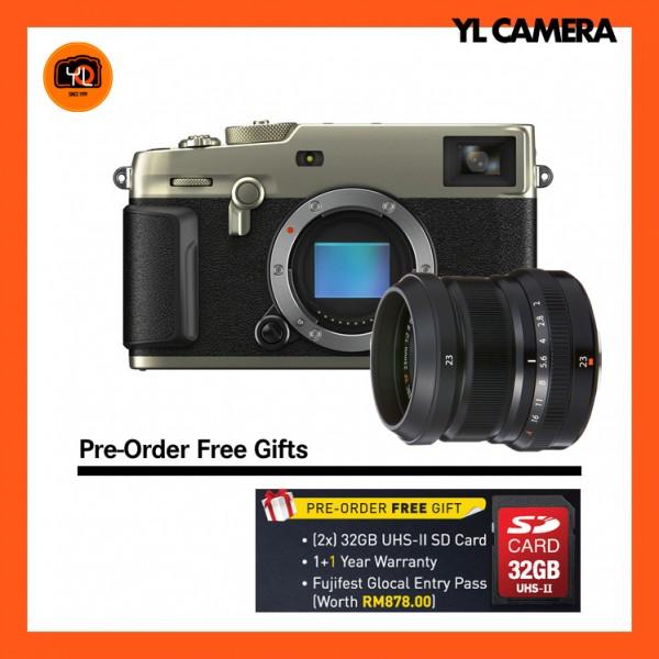 (Pre-Order) Fujifilm X-Pro 3 + XF 23mm F2 R WR (Dura Silver)