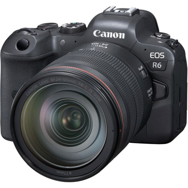 Canon EOS R6 + RF 24-105mm F4 L IS USM [ETA: September 2020]